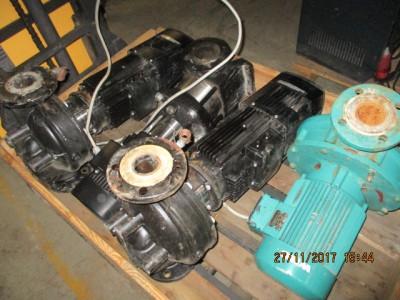 Wasserpumpe Grundfos MOT MGE 100LB4-28FT130-B