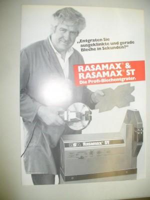 Blechentgratmaschine Rasamax Rasamax ST Rasamax ST