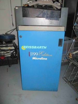 Beissbarth Microline Achsvermessungsgerät Achsvermessungsgerät