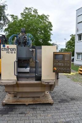 Chiron Bearbeitungszentrum FZ12S FZ12S