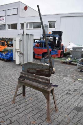 Mubea Hebelblechschere Modell 2/4/400 Modell 2/4/400