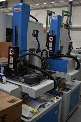 Huber Startlocherodiermaschine OCT 3525 CA